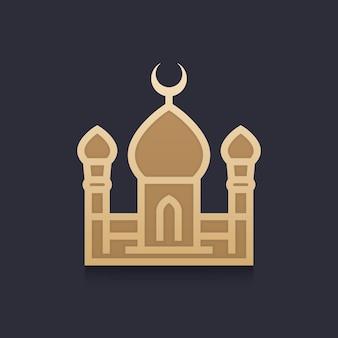 Illustrazione vettoriale della moschea