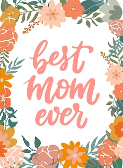 Biglietto di auguri per la festa della mamma