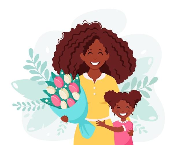 Cartolina d'auguri di giorno di madri