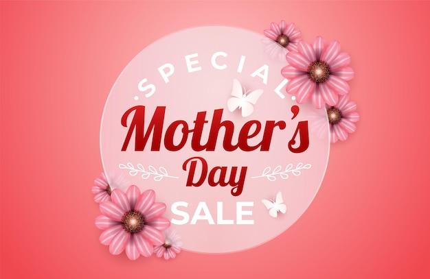 Banner di vendita di giorno di madri