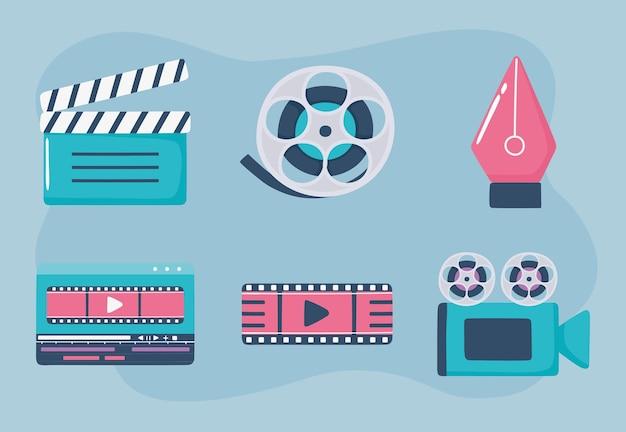 Movimento e set cinematografico