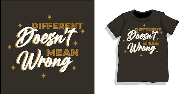 Design della maglietta tipografia lettering motivazionale