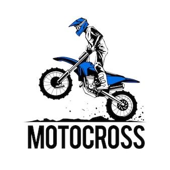 Sport estremo di motocross