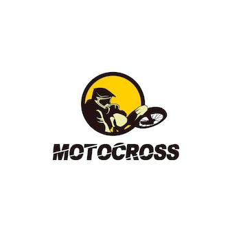 Logo del motocross