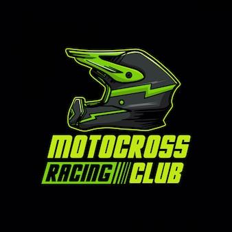 Logo del club di corse di motocross