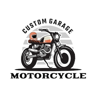 Logo del garage personalizzato per moto