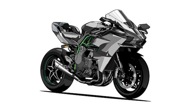 Illustrazione del motociclo