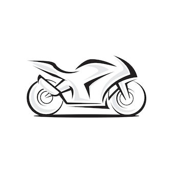 Logo vettoriale moto