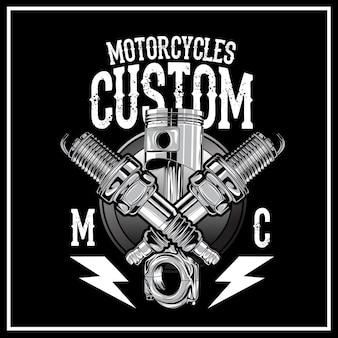 Logo personalizzato moto