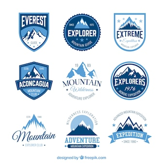 Mountain distintivi avventura