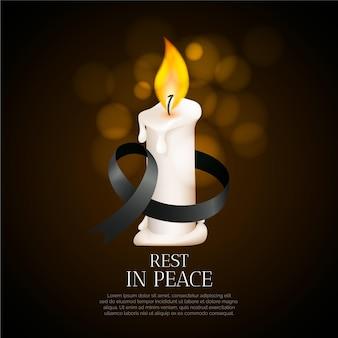 Lutto per le vittime
