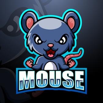 Esportatore mascotte del mouse