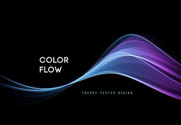Sfondo astratto colorato in movimento