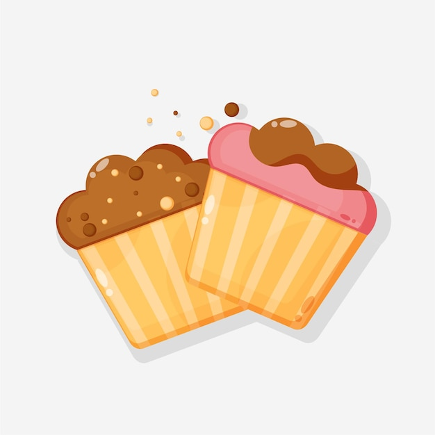 Disegno dell'icona di muffin