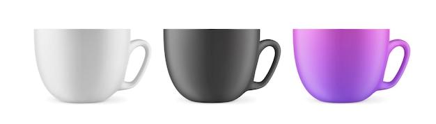 Una tazza per bevande vista frontale
