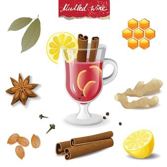 Icone di vin brulè