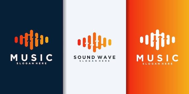 Logo equalizzatore musicale