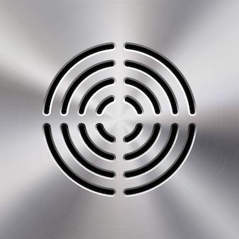 Music metal audio speaker