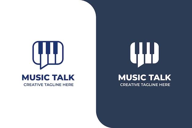 Logo multimediale di conversazione musicale