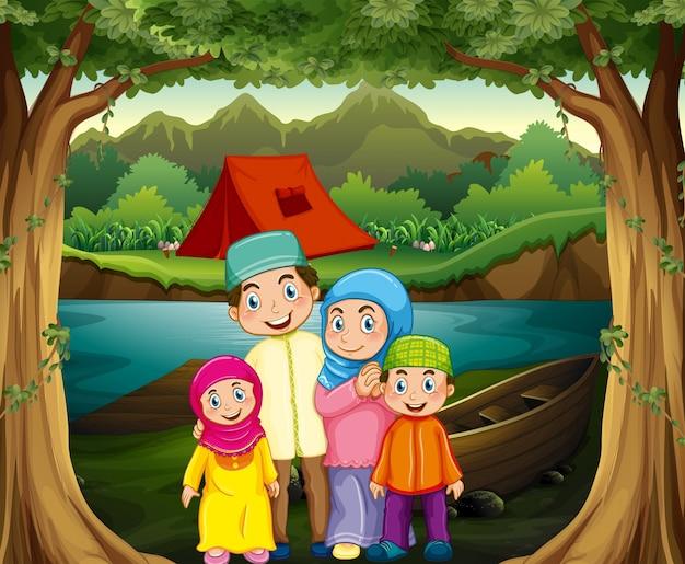 Famiglia musulmana
