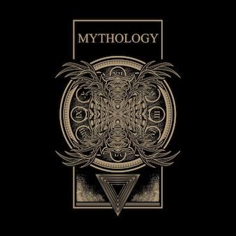 Opera d'arte di mitologia
