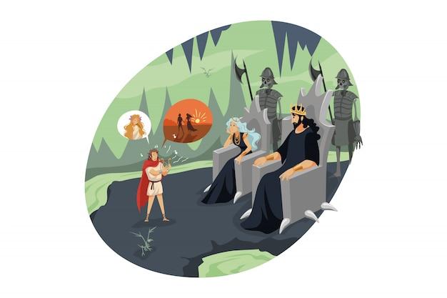 Mitologia, grecia, olimpo, leggenda, concetto di religione.