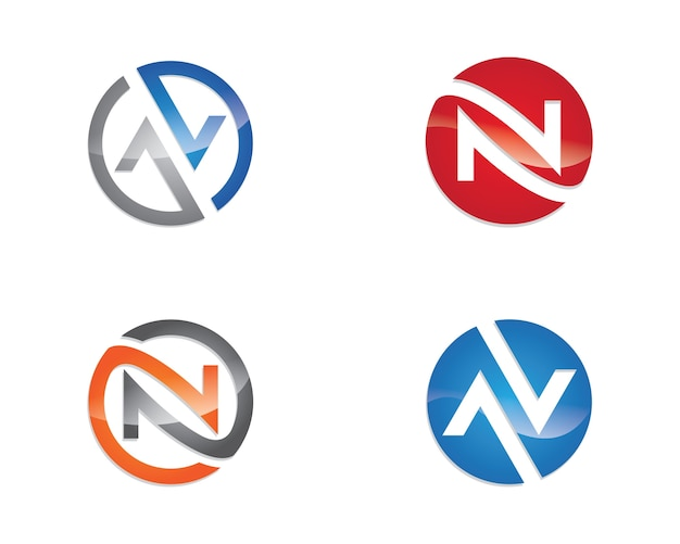 N template logo logo