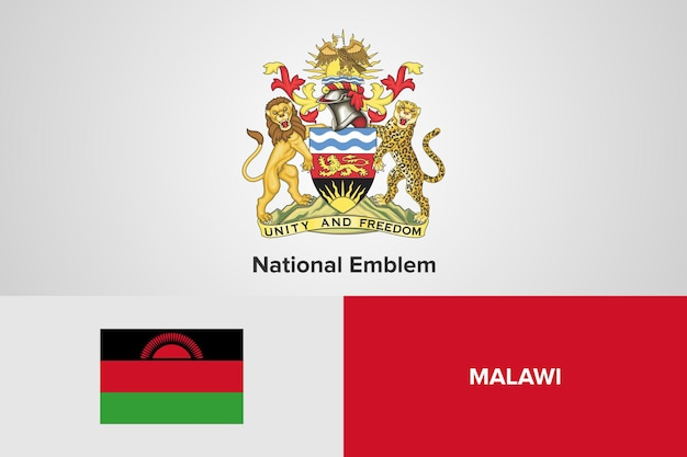 Emblema nazionale e modello di bandiera