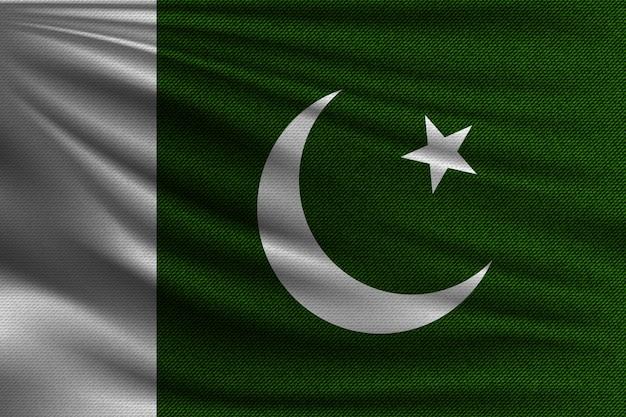 La bandiera nazionale del pakistan.