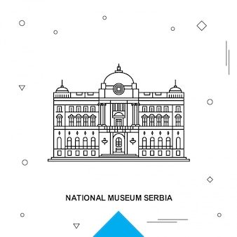 Museo nazionale serbia