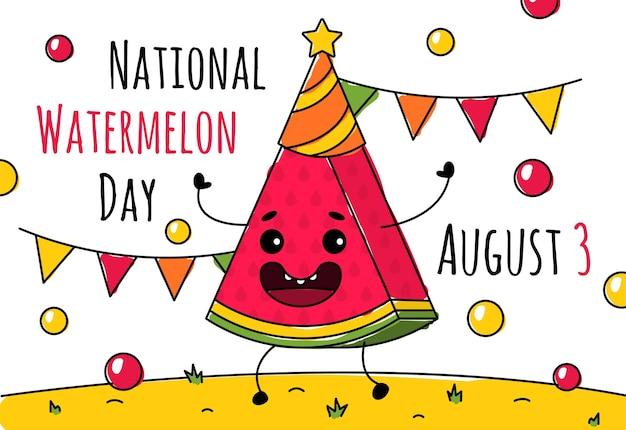 Giornata nazionale dell'anguria il 3 agosto
