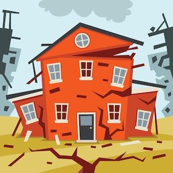 Catastrofe naturale disastro terremoto