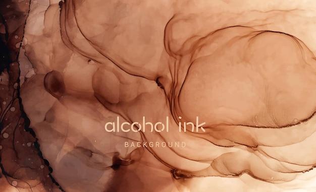 Pittura fluida astratta di lusso naturale nella tecnica dell'inchiostro ad alcool. arte per progetto di design come sfondo per inviti o biglietti di auguri, volantini, poster, presentazioni, banner.
