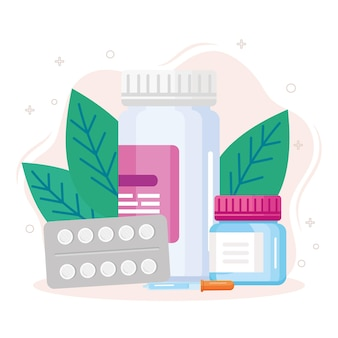 Composizione della medicina naturale