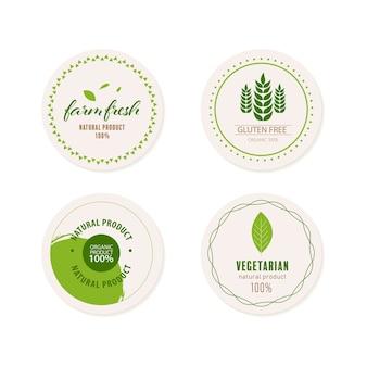 Colore verde logo naturale ed organico