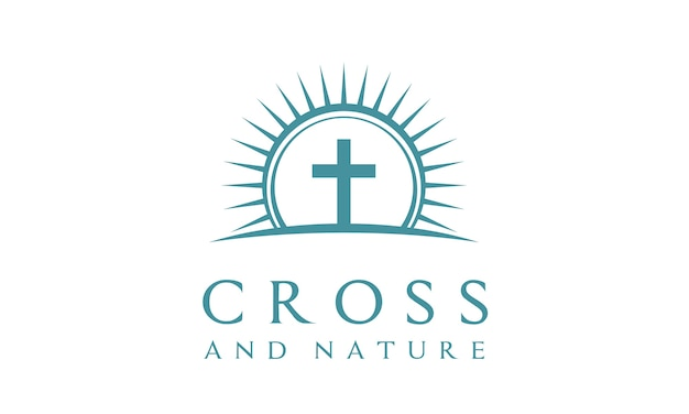 Nature christian christian logo design