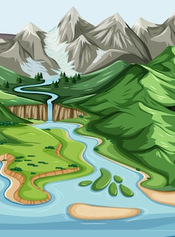 Natura paesaggio geografico