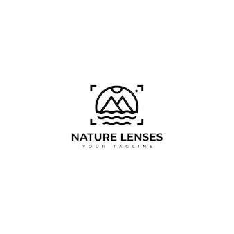 Logo di fotografia naturalistica