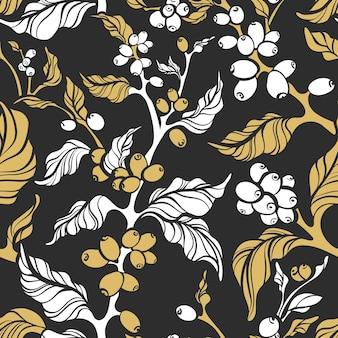 Natura seamless pattern