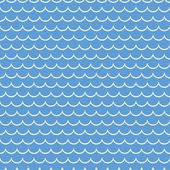 Modello di onde nautiche. fondo geometrico astratto. illustrazione di stile elegante e di lusso