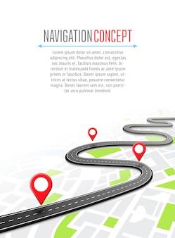Navigazione con puntatore a spillo