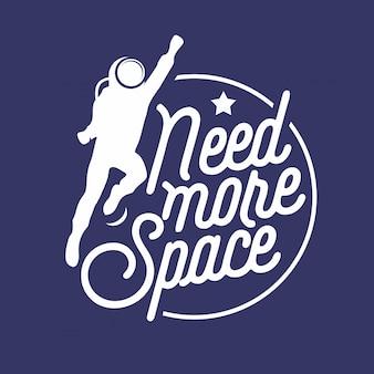 Hai bisogno di più virgolette scritte nello spazio