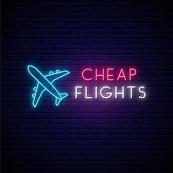 Segno aereo al neon