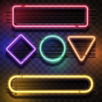 Modello di luce al neon