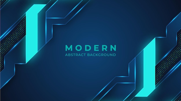 Fondo astratto moderno di illuminazione al neon