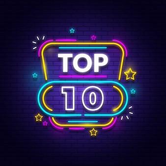 Top 10 delle luci al neon