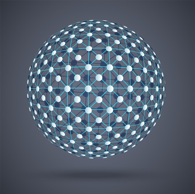 Connessioni digitali globali della struttura della rete