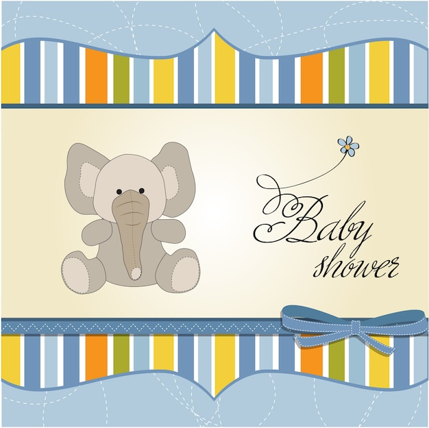 Nuova carta di annuncio del neonato