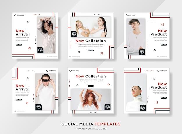 Nuovi modelli di social media per collezioni di abbigliamento