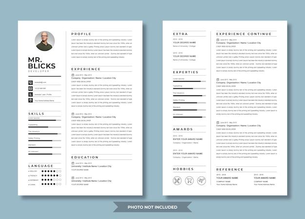 Nuovo design del curriculum